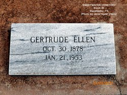 Gertrude Ellen <i>Scott</i> Adams