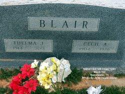 Thelma J. <i>Bralley</i> Blair
