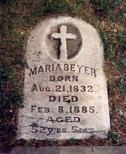 Maria Mary <i>Rossow?</i> Beyer
