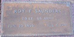 Roy F Saunders