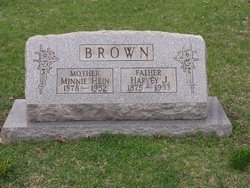 Minnie Luberta <i>Hein</i> Brown