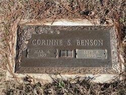 Corinne <i>Stonecypher</i> Benson