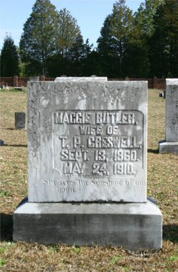 Margaret Maggie <i>Butler</i> Creswell