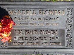 William Franklin Frank Flowers