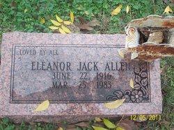 Eleanor <i>Jack</i> Allen