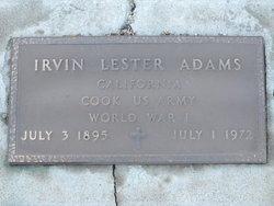 Irvin Lester Adams