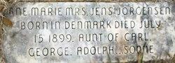 Mrs Ane Marie Jorgensen