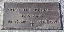 Dorothy G. <i>Faith</i> Goodaker