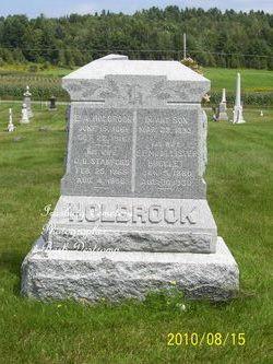 Infant son Holbrook