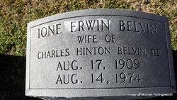 Mrs Ione <i>Erwin</i> Belvin