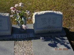 Ruby Lee <i>Ivey</i> Hand