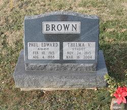 Thelma V. <i>Staudt</i> Brown