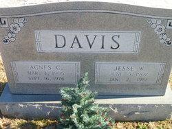 Agnes C Davis