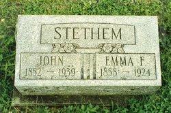 Emma E. <i>Ferren</i> Stethem