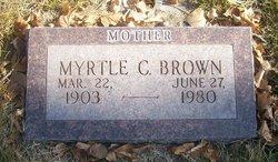 Myrtle Catherine <i>Green</i> Brown