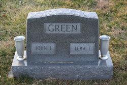 Lera E <i>Johnson</i> Green