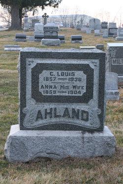 Anna <i>Eberhardt</i> Ahland