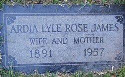 Ardia Lyle <i>Rose</i> James