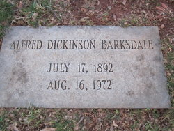 Alfred Dickinson Barksdale