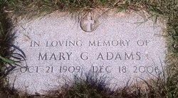 Mary G <i>Depoian</i> Adams