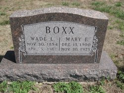 Wade L Boxx