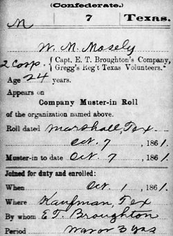 Corp W M Moseley