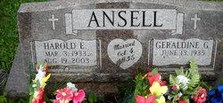 Harold E. Ansell, Sr