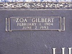 Zoa Gilbert Hunley