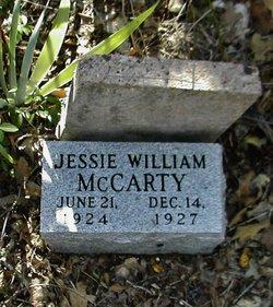 Jessie William McCarty