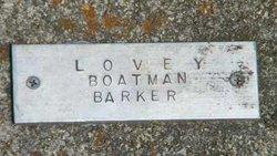 Lovey <i>Boatman</i> Barker