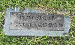 Infant Son Cadenhead