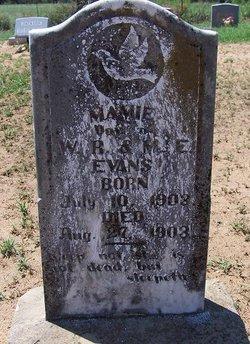Mamie Evans