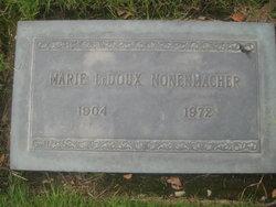 Marie <i>LeDoux</i> Nonenmacher