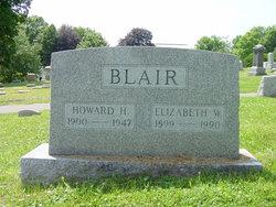 Elizabeth W <i>Wilkin</i> Blair