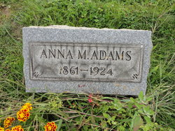Anna Martha <i>Gilfillan</i> Adams