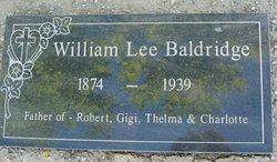 William L Baldridge