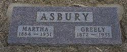 Martha Hannah <i>Way</i> Asbury