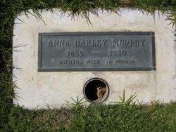 Anna Eunice <i>Oakley</i> Murphy