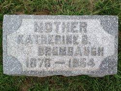 Katherine Beatrice <i>Christopher</i> Brumbaugh