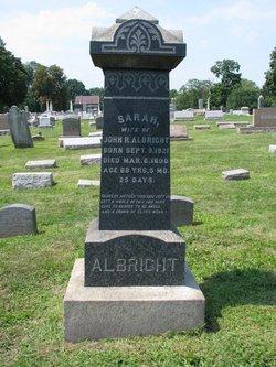 Sarah <i>Hatfield</i> Albright