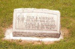 Felix Bernard Ackerman
