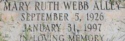 Mary Ruth <i>Webb</i> Alley