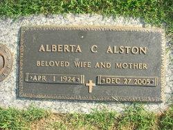 Alberta C Alston