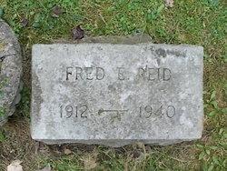 Fred E Reid
