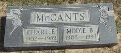 Charlie McCants