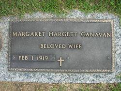 Margaret <i>Hargett</i> Canavan