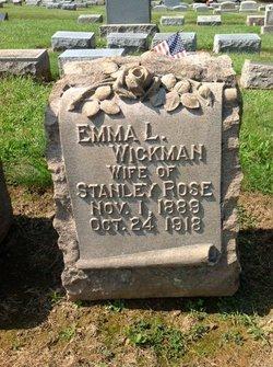 Emma Louise <i>Wickman</i> Rose