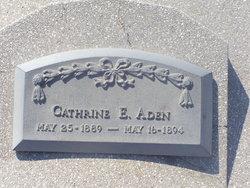 Cathrine E Aden