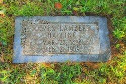 James Lambert Halling