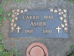 Carrie Mae <i>Fryrear</i> Asher